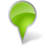 Map-Marker-Bubble-Chartreuse-icon