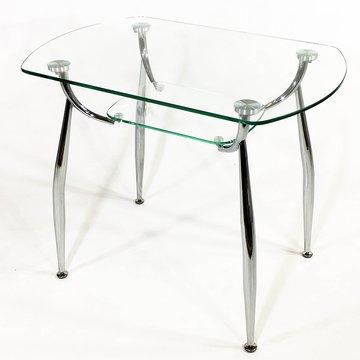 стеклянные обеденные столы для кухни